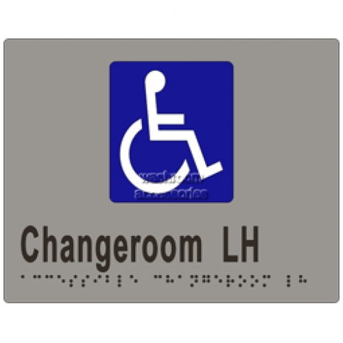 View ML16274 Braille Sign, Accessible Changeroom LH Transfer details.