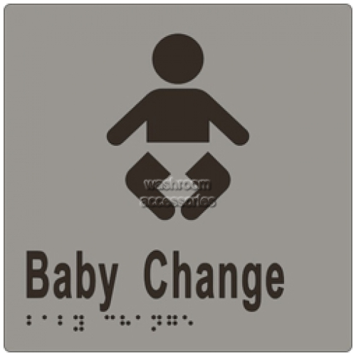 View ML16280 Braille Sign, Baby Change details.