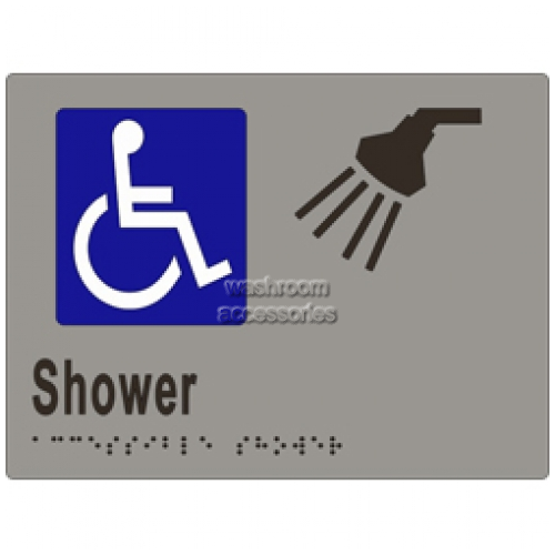 View ML16293 Braille Sign, Accessible Shower details.