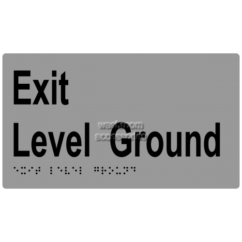 View ML16997 Braille Sign, Exit Ground Floor details.