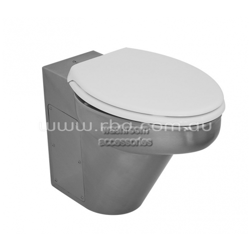 View RBA8851 Ambulant Toilet Pan and Seat, S Trap details.