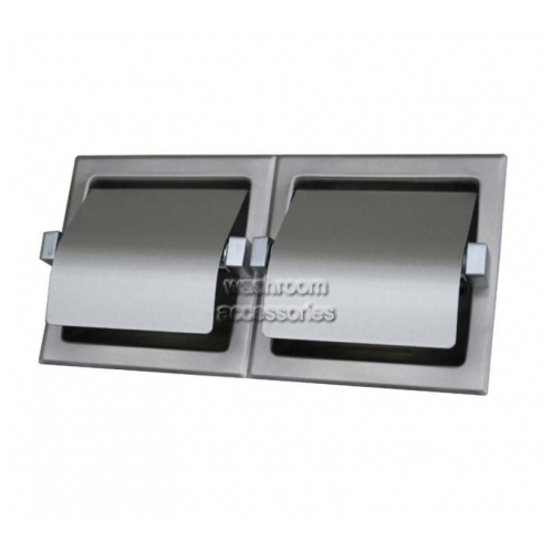 View ML263S Double Toilet Roll Holder Surface Mounted - LAST STOCK details.