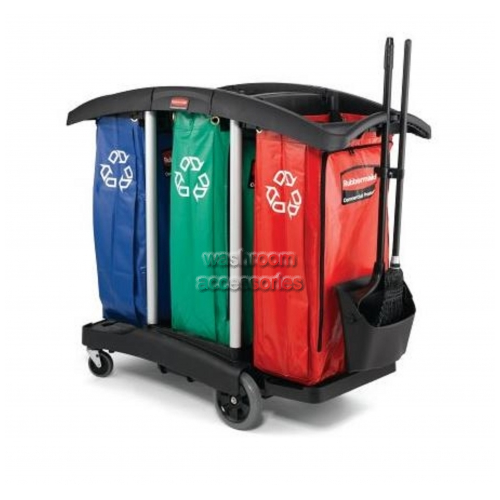View 9T92 Cleaning Cart Triple Capacity details.
