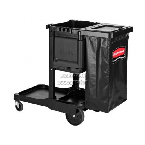 View 1861430 Cleaning Cart with Locking Cabinet, Trash Cover details.