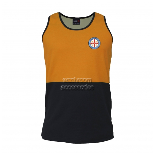 View Hi-Vis Singlet Orange details.