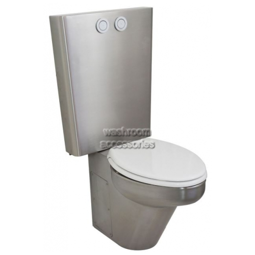 View RBA8847-156 Toilet Suite with Seat, Front Fixed details.