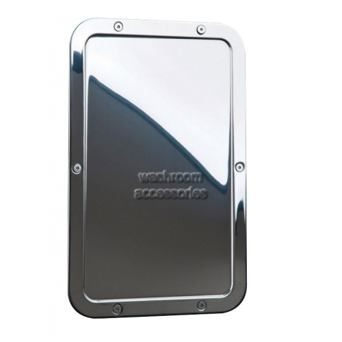 View RBA8117 Mirror with Integral Frame, Front Fixed details.