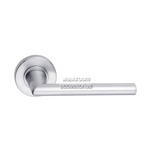 View 888-8 Door Handle Round Rose, Single details.