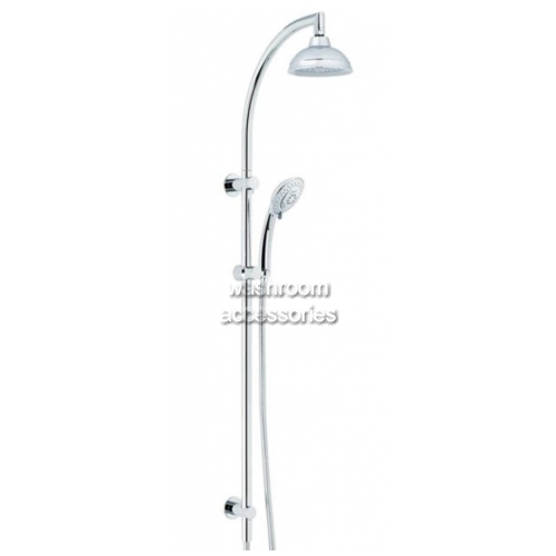 View TW025PX Dual Shower with Streamjet XL Hand Piece details.