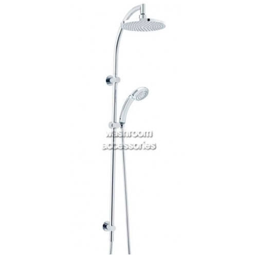 View TW025CP Dual Shower Head with Princess Hand Piece details.
