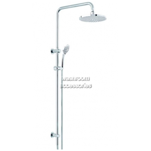 View TW029CT Dual Shower with Streamjet Turbo Hand Piece details.