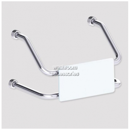 View BR400 Backrest Wall Mount details.