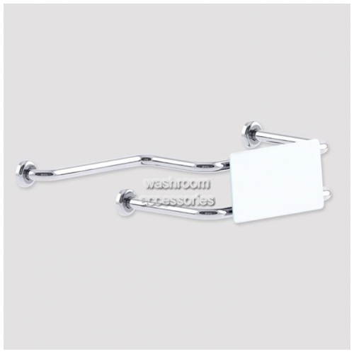 View BR440 Backrest with Straight Rail details.