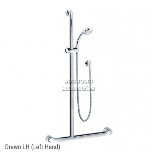 View HS01816 Shower and Rail Kit 16 Left Hand details.