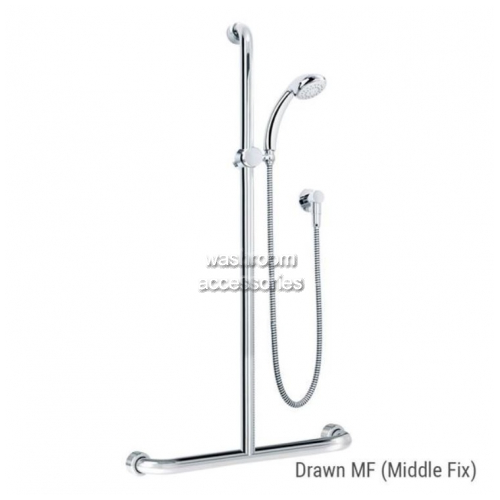 HS01820 Shower Kit and Rail Kit 20 Middle Fix