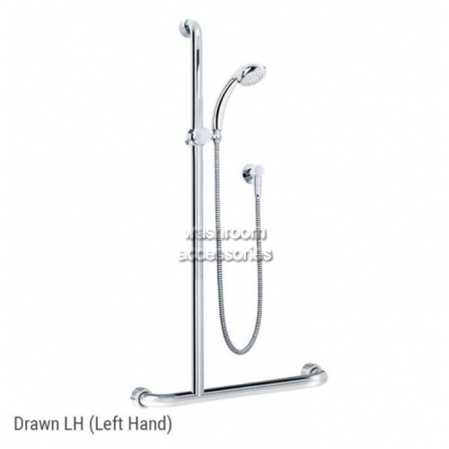 View HS01820 Shower Kit and Rail Kit 20 Left Hand details.