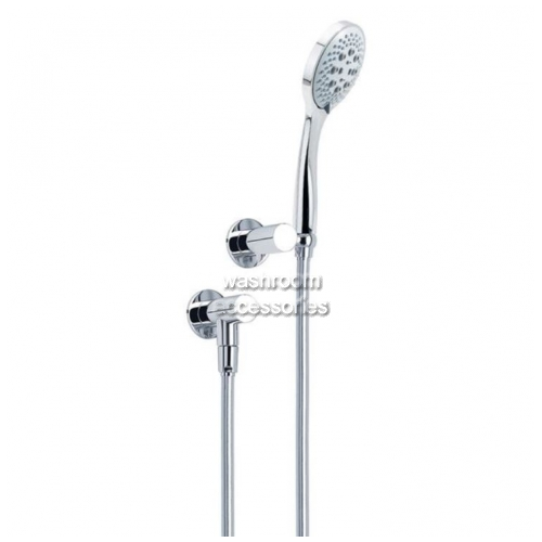 View HS013T Streamjet Turbo Shower Head, Low Water Outlet details.