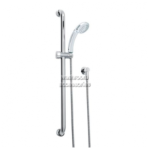 GS900P Shower Kit, Rail, Princess Head, Cradle