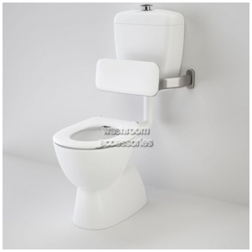 View Connector Toilet Suite with Backrest and Single Flap Seat details.