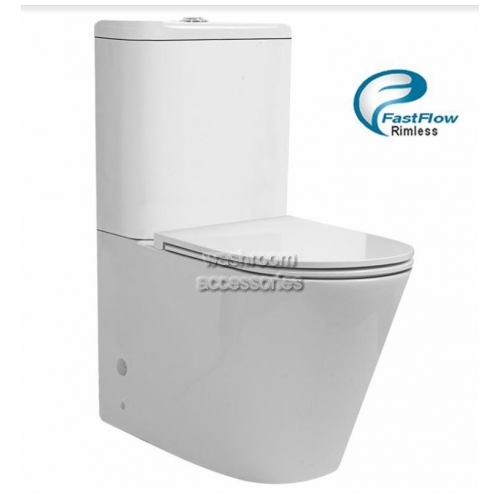 View Rimless Back To Wall Toilet details.