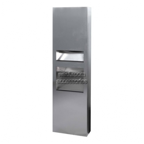 View 2 In 1 Compliant Combo Unit, Towel Dispenser, Waste Bin 26L details.