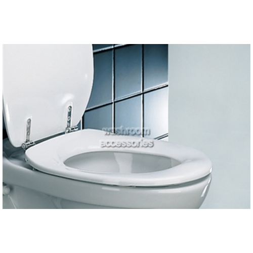 View Toilet Seat, Double Flap details.