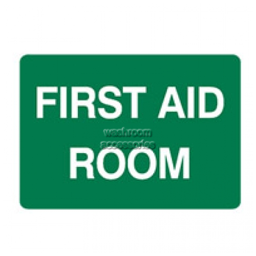 View First Aid Room Sign details.