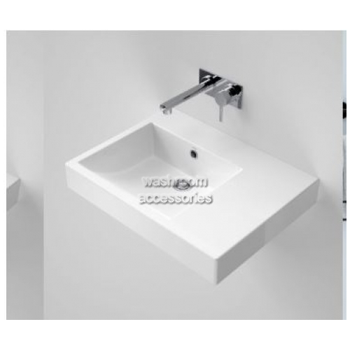 View Liano Nexus 600 Wall Basin Right Hand Shelf details.