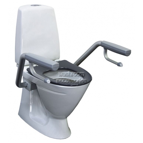 View Toilet Suite with Support Arms, Single Flap Seat (Freight to be Quoted) details.