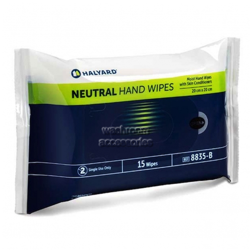 View 8835 Neutral Hand Wipes details.