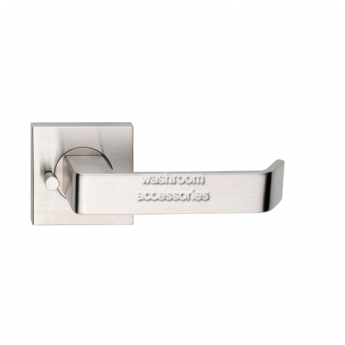 View L39Z-PVZ Door Handle, Square Rose, Pair, Privacy details.