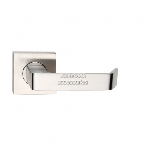 View L39Z Door Handle, Square Rose, Pair details.