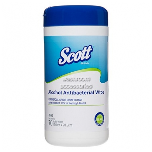 View 4100 Alcohol-Based Antibacterial Wipes  details.