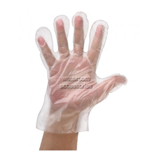 View Polyethylene Food-Handling Gloves, Medium No Powder details.
