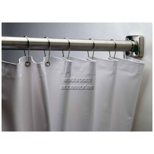 View B204 Shower Curtain Vinyl, Hooks Sold Separately details.