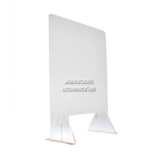 View Acrylic Sneeze Guard with Stands, Counter Protection details.