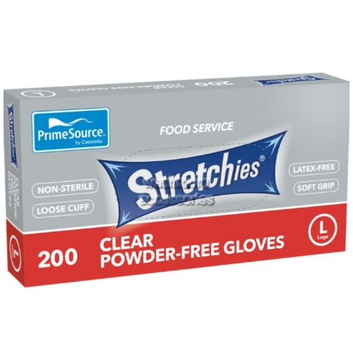View Disposable Gloves, Latex Free, Powder Free, Large details.