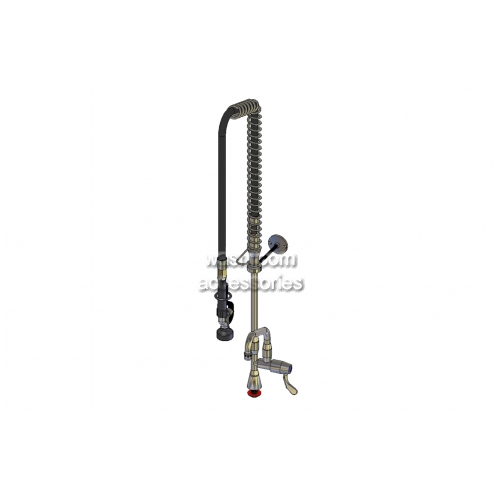 View Hob Mounted Ultra-Rinse Riser Assembly and Pot Filler details.