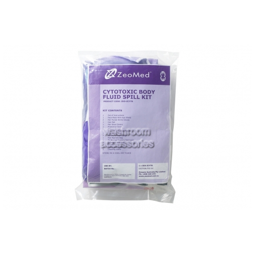 View Cytotoxic Body Fluid Spill Kit - Bag details.
