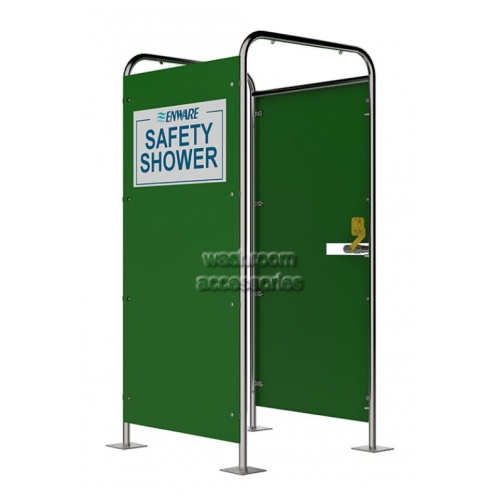 View Free Standing Shower, 16 Multi-Spray, Hand Operated, 2 Side Panels details.
