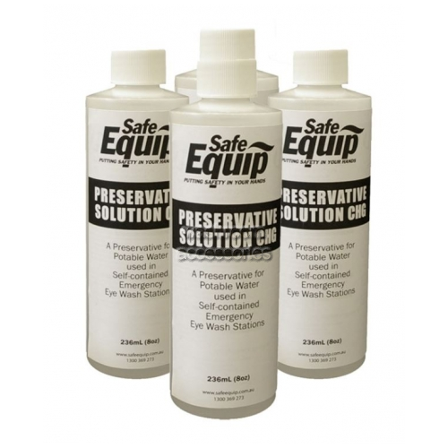 View Gravity Fed Eyewash Water Preservative Concentrate details.