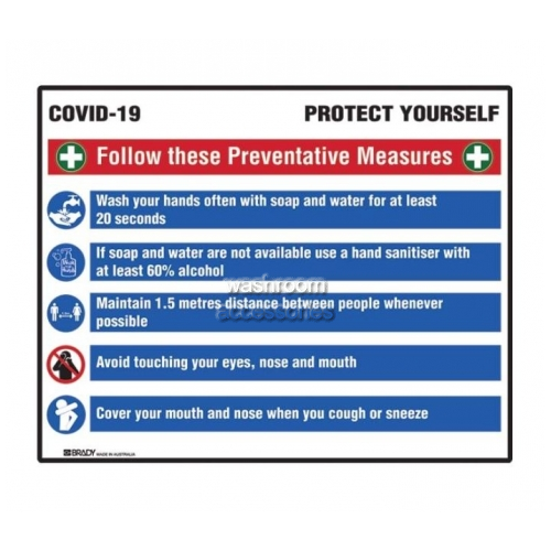 View COVID-19 Prevention Multi-Message Sign details.