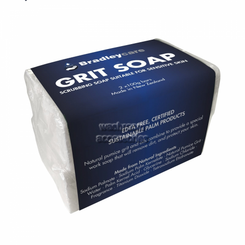View Grit Soap Bars Twin Pack details.
