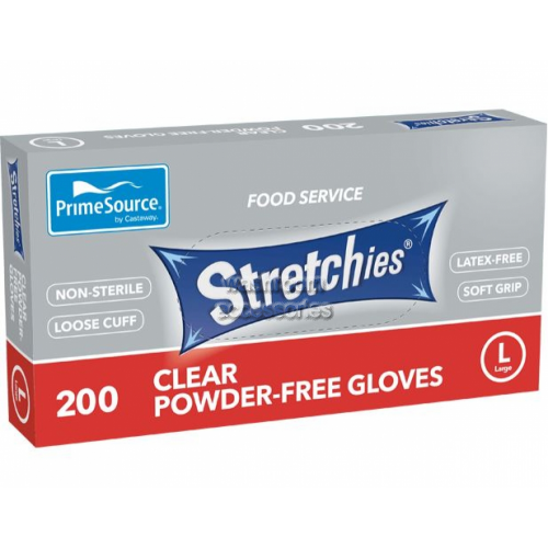 Disposable Gloves, Latex Free, Powder Free, Large
