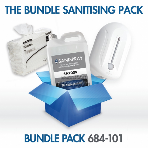 View Sanitiser and Cleaning Combo Pack details.