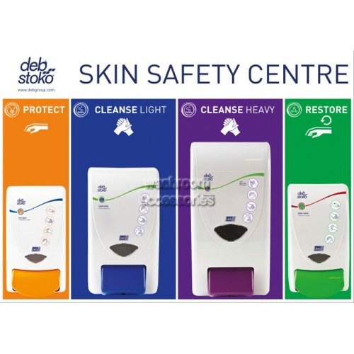 View 3 Step Skin Protection Centre Board details.