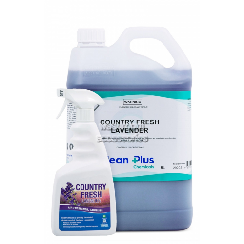 View Country Fresh Lavender Air Freshener Alcohol Based details.
