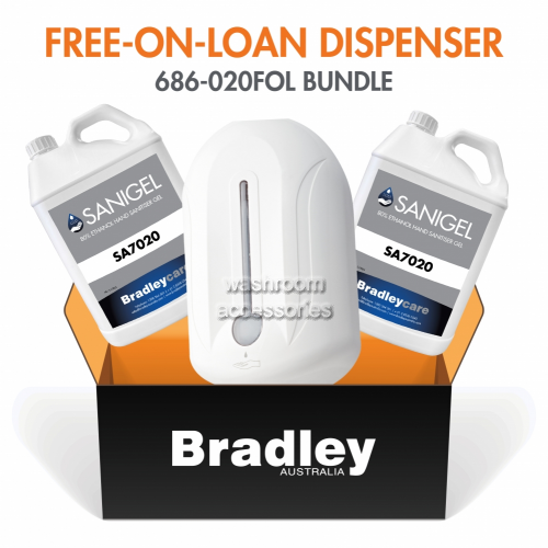 View Free-On-Loan Gel Sanitiser Dispenser with Refill details.