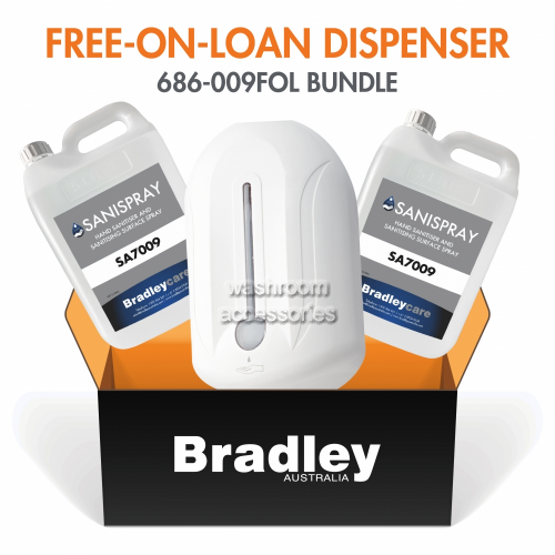 View Free-On-Loan Spray Sanitiser Dispenser with Refill details.
