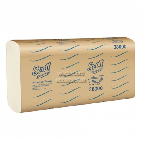 View 38000 Ultraslim Hand Towel Single Pack details.